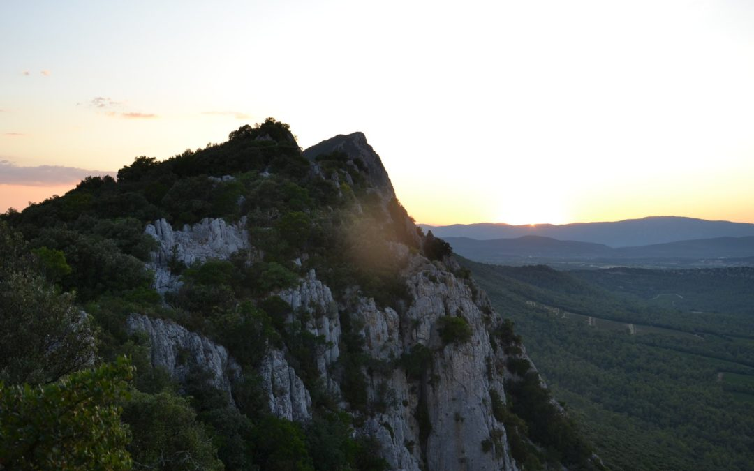 Le Pic Saint Loup à nouveau ouvert au départ de Cazevieille